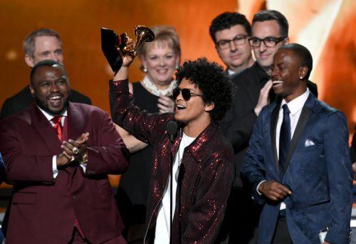 Nagrody muzyczne Grammy 2018 rozdane > Bruno Mars zgarnia najwięcej nagród