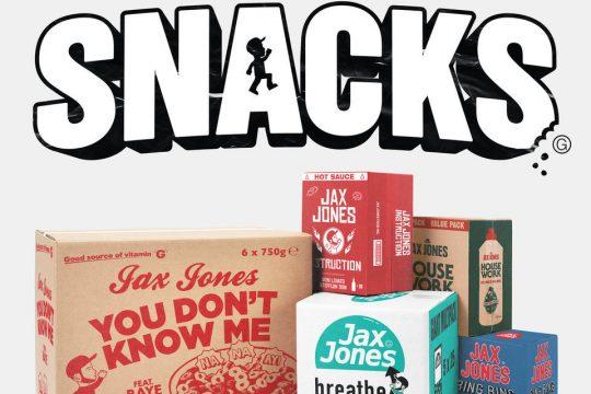 Jax Jones Snacks