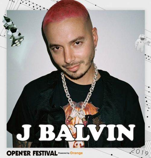 J Balvin Opener 2019