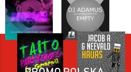 Baranovski, DJ Adamus, Horyzonty, Taito, Jacob A + neeVald
