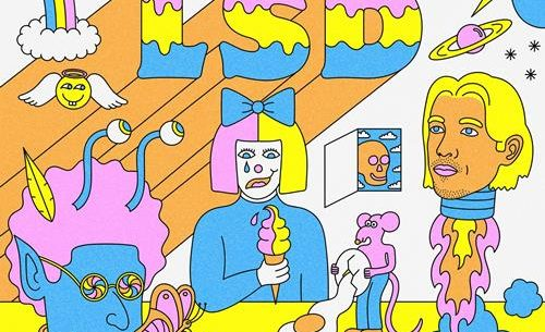 LSD Diplo No new Friends promo