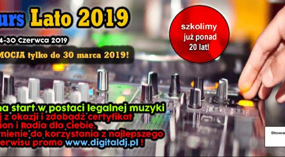 DJ Kurs Lato 2019 DJ Promotion