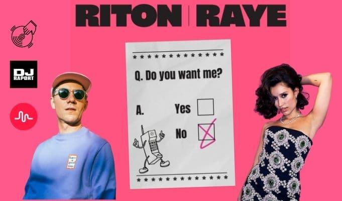 I Don't Want You riton raye