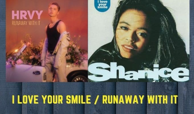 Shanice I LOVE YOUR SMILE HRVY RUNAWAY WITH IT
