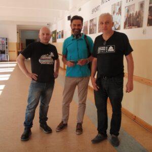 DJ Kurs Lato 2015 DJ Tomson, Marek Hojda (ZAiKS) i Piotr Gryglewicz