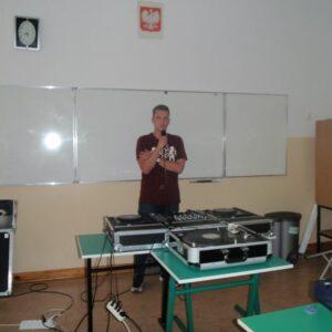 DJ Kurs Lato 2015 zajęcia z mikrofonem
